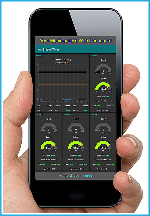 monitor engines on your smartphone
